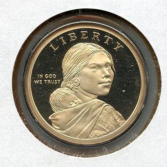 2006-S Sacagawea Dollar Coin Gem Proof Deep Cameo U.S