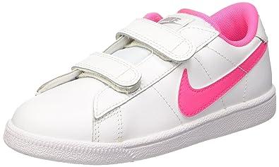 Nike Tennis Classic (PSV) Zapatillas de tenis, Niñas, Blanco / Rosa / Gris, 30: Amazon.es: Zapatos y complementos