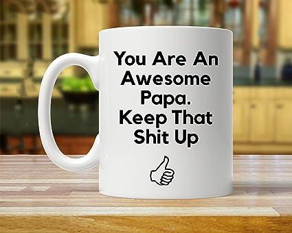 Papa Gift For Mug Funny