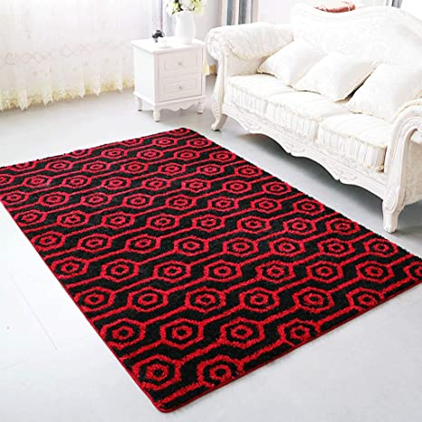 Amazon.com: HUANGDA-carpet Carpet Living Room Coffee Table ...