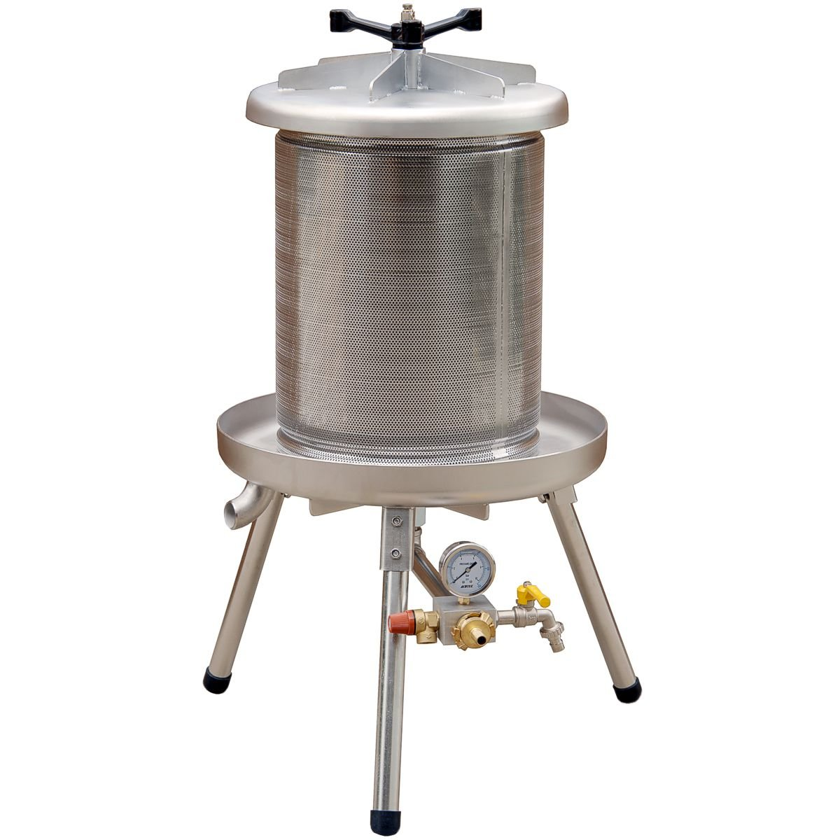 Stainless Steel 40L Hydropress