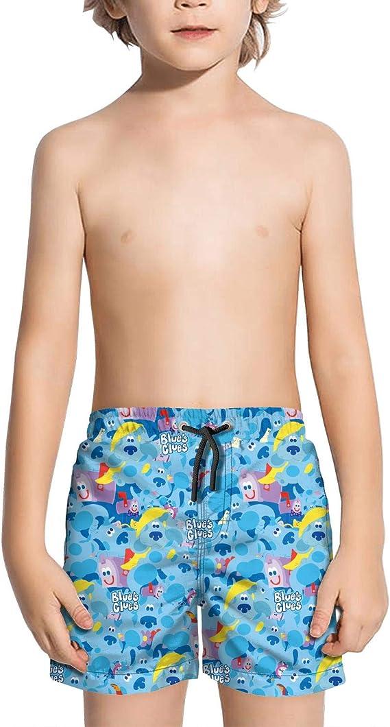 Blues Clues Dog Drawsting Swim Trunks Quick Dry Beach Shorts Swimsuit
