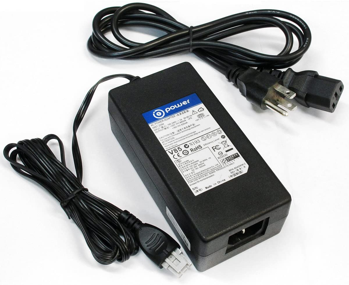 T Power 32v Ac Dc Adapter Charger Compatible with HP Pcs 1300 All-in-One Q3501AR PSC 1350 All-in-One Q3501P PSC 1350xi Q3502A PSC 1350v All-in-One Q3503A Printers 0957-2178 0957-4466 Power Supply