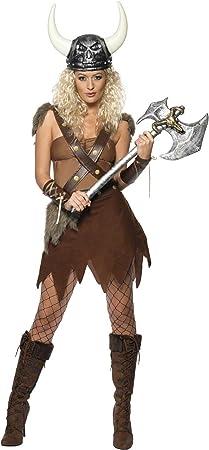 Desconocido Disfraz de vikinga para mujer: Amazon.es: Juguetes y ...