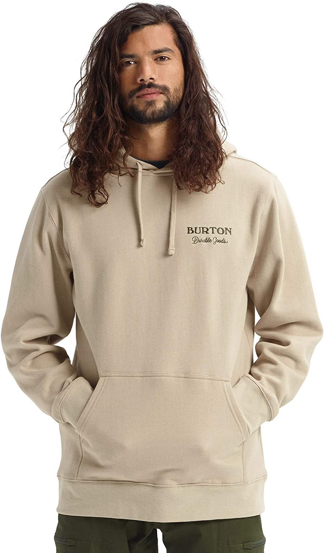 Burton Herren Durable Goods Pullover Hoodie Plaza Taupe