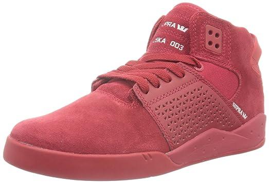 Supra Zapatillas Abotinadas Rojo EU 41 Bnq07B