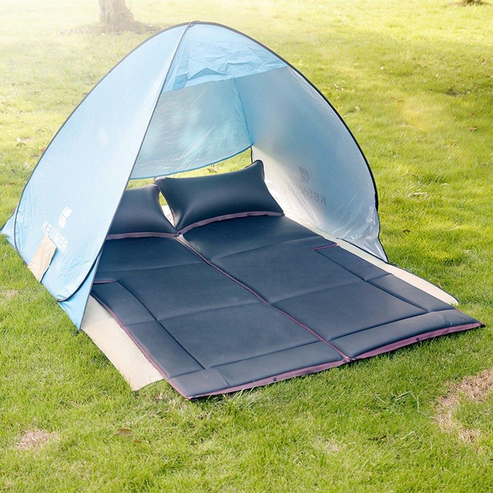 YQQ Outdoor Schlafmatte Selbstfahrende Reise Reise Bett Zelt Auto Folding Matratze Schlaf Bett Camping Auto Bett (Farbe : SCHWARZ)