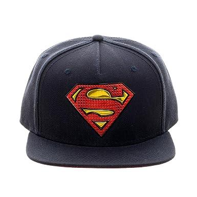 Bioworld DC Comics Superman - Gorra con Logo de Soldadura cromada ...