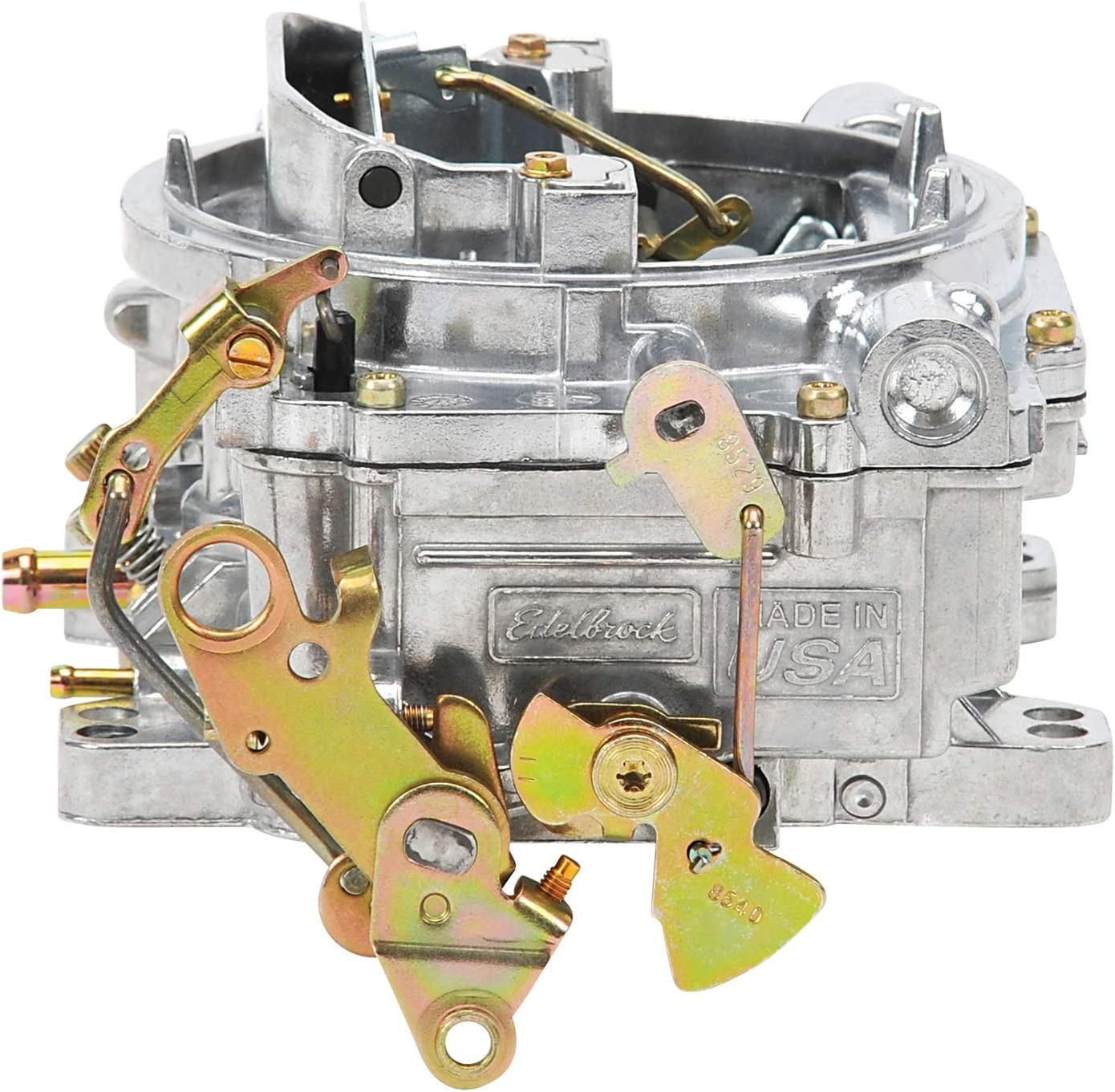 3. Edelbrock 1405 Performer 600 CFM Square Bore 4-Barrel Air Valve Secondary Manual Choke New Carburetor