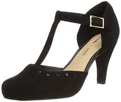 ab84392bf6a6 Clarks Women s Dalia Leah T-Bar Pumps  Amazon.co.uk  Shoes   Bags