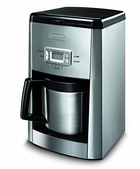 DeLonghi ICM 65 T - Cafetera con jarra termo (10 tazas): Amazon.es ...