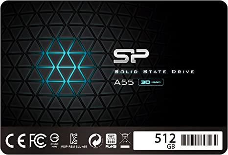 Silicon Power Ace A55 - SSD Disco Duro Sólido Interno 512 GB, 2.5 ...