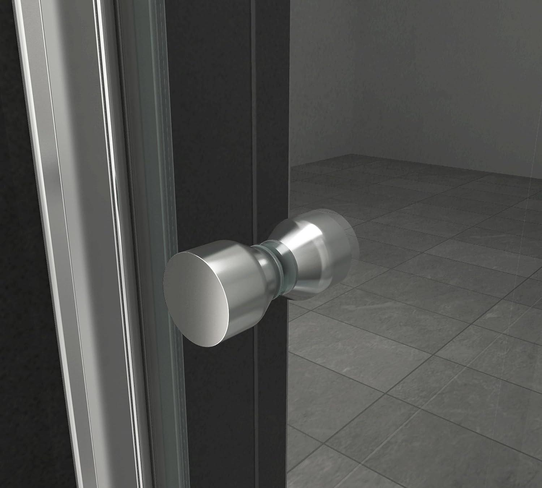 Puerta ONTO 90 x 75 x 200 cm con mampara de ducha: Amazon.es: Bricolaje y herramientas