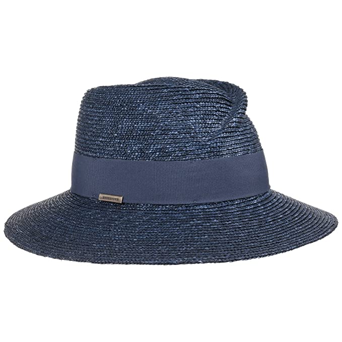 a0494caf869 Spiaggia Paglia Crown Estivo Seeberger Dented Da Cappelli Cappello 8qYw1xzP