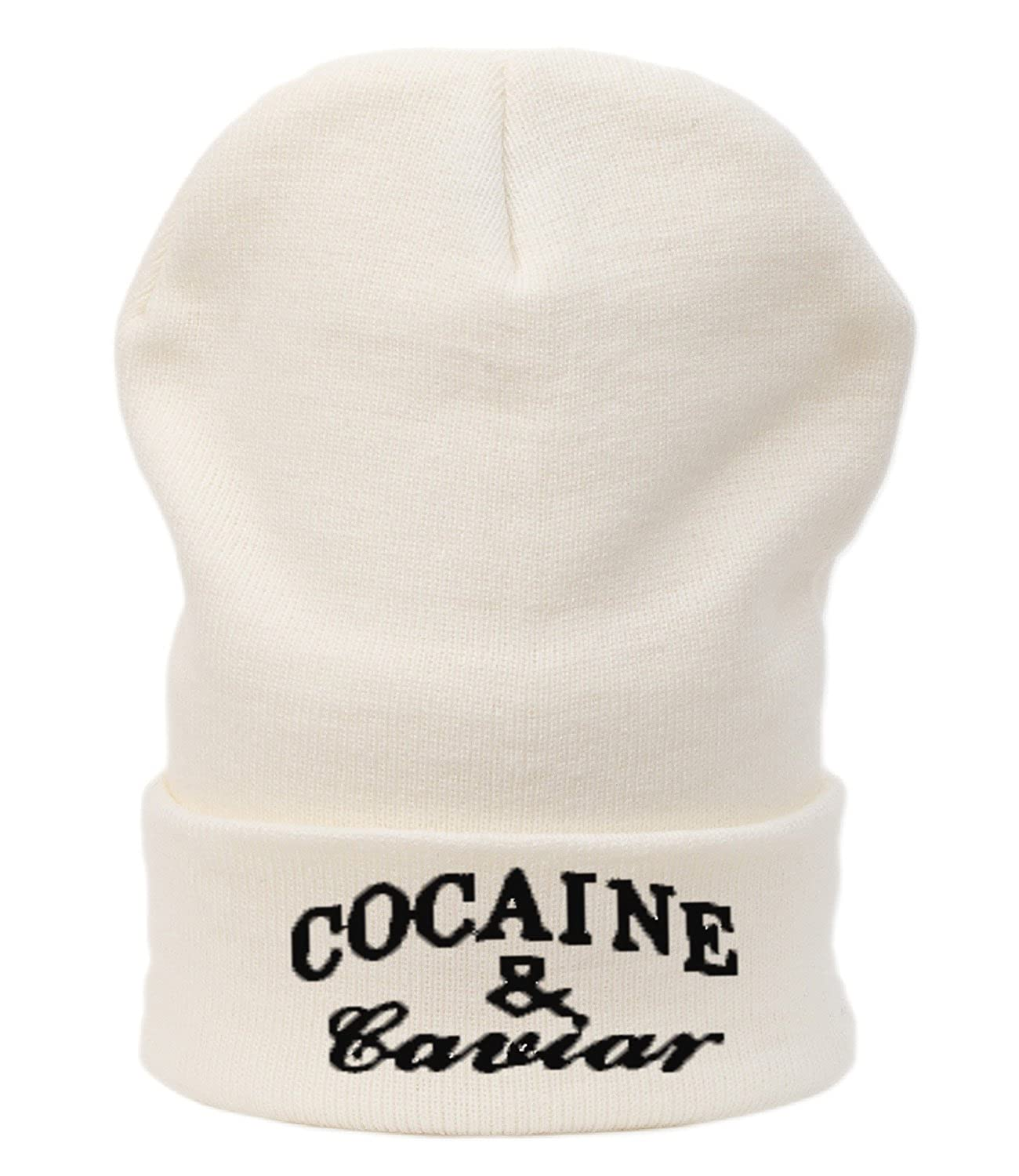 Beanie Mütze Damen Herren Bad Hair Day Cocaine Caviar Meow Swag Wasted DIE Fake meow Commes des 1994 HAT HATS