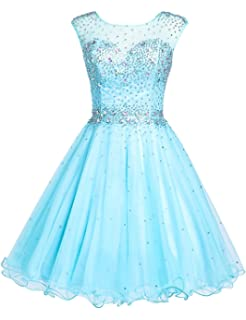Sarahbridal Women s Short Tulle Beading Homecoming Dresses Prom Party Gowns 608b2a8ec