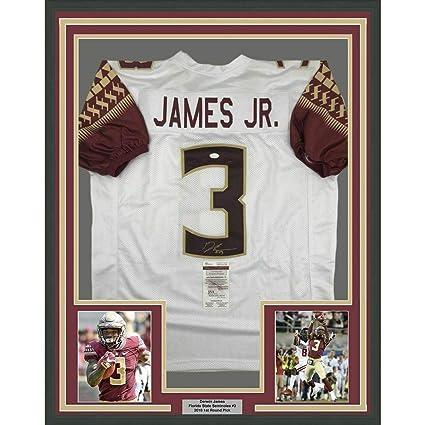 online retailer 91b81 41917 Autographed Derwin James Jersey - FRAMED 33x42 White COA ...