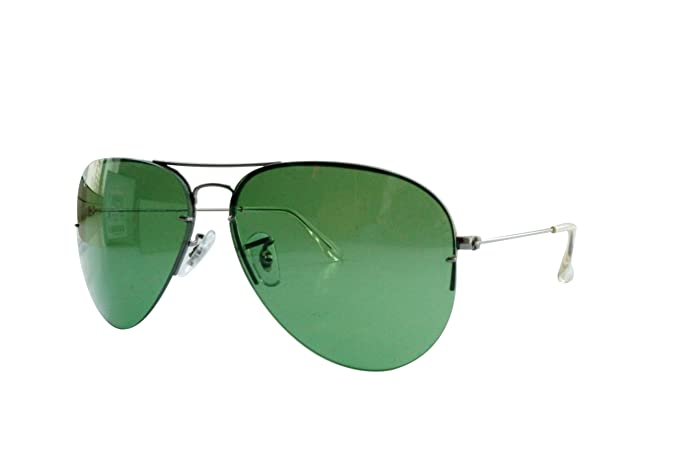 807d0e96e742b ... lentes intercamb b992b free shipping ray ban flip out aviator  sunglasses in gold green rb3460 004 2 59 59 ...