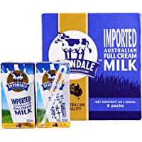 Devondale德运 纯牛奶200ml(澳大利亚进口) (全脂纯牛奶, 200ml*24盒)