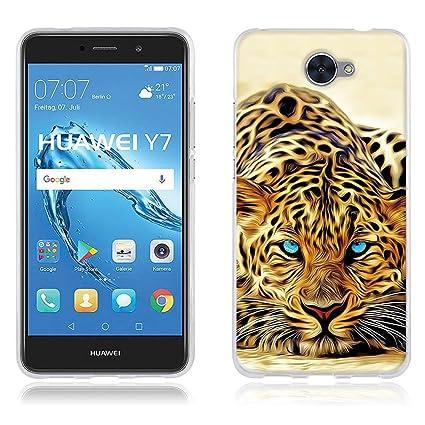 DIKAS Funda Carcasa para Huawei Y7, Carcasa de Silicona Transparente TPU, Carcasa Protectora de Goma de Altisima Calidad para Huawei Y7- Pic: 20