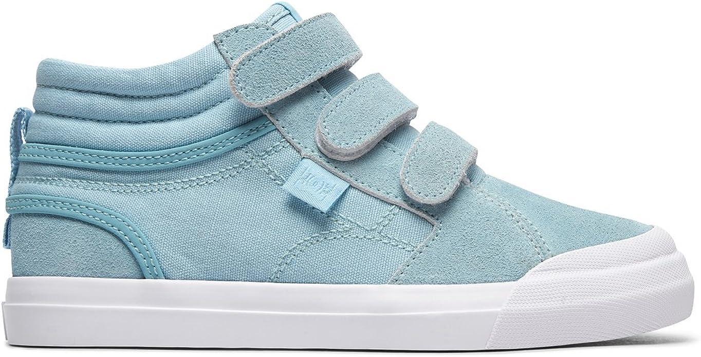 DC Shoes Evan Hi V TX Sneakers Kinder Mädchen Hellblau