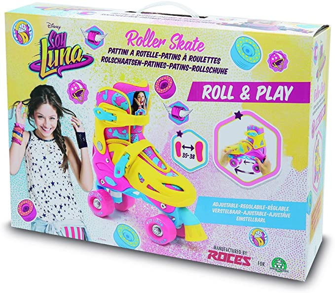 Soy Luna Giochi Preziosi – Roll and Play Skates with Slipper 35/38