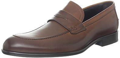 BOSS HUGO BOSS Men's Bront Slip-On Loafer,Medium Brown,11.5 ...