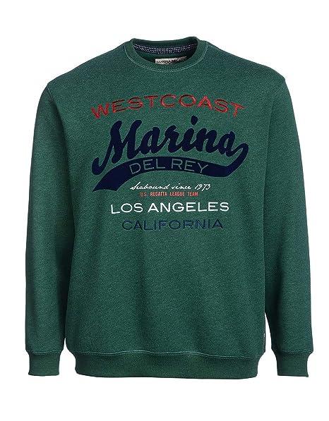 9acbe201fce0 Big Fashion by Adler Mode Herren Sweatshirt - Langarmshirt, Top, T-Shirt,