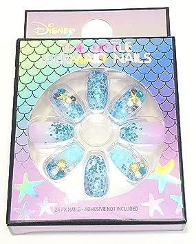 Primark Disney The Little Mermaid Nails Set de 24 piezas de ...