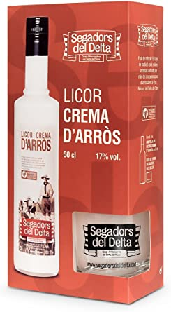 Segadors Del Delta Pack Licor de Arroz con Vaso - 500 ml: Amazon.es: Alimentación y bebidas
