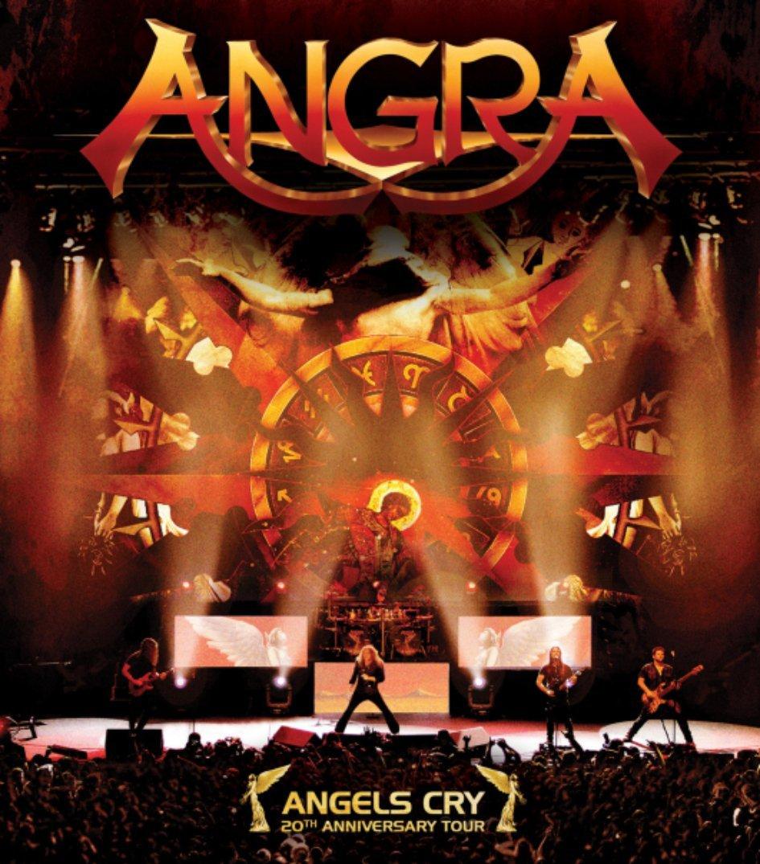 Blu-ray : Angra - Angels Cry (20th Anniversary Live) (Hong Kong - Import)