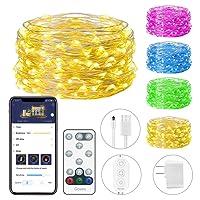 Deals on Minger Govee 33Ft String Light w/100 LEDs 16 Colors Changing