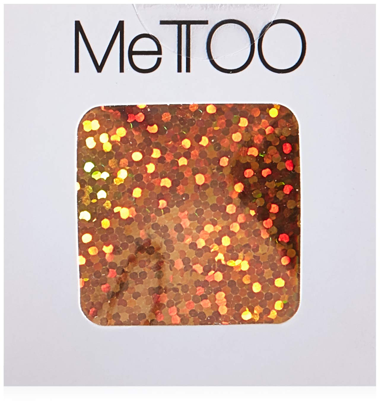 Mettoo Gold Holographic Sparkle Body Foil Pro, 200 Count