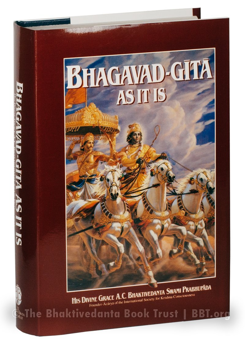 Buy Bhagavad Gita As It Is (Kannada) Book Online at Low Prices in