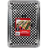 Foil Disposable Grill Topper Trays, 2-ct. Packs - 15 1/2 X 10 3/8 - (5 Packs of 2)