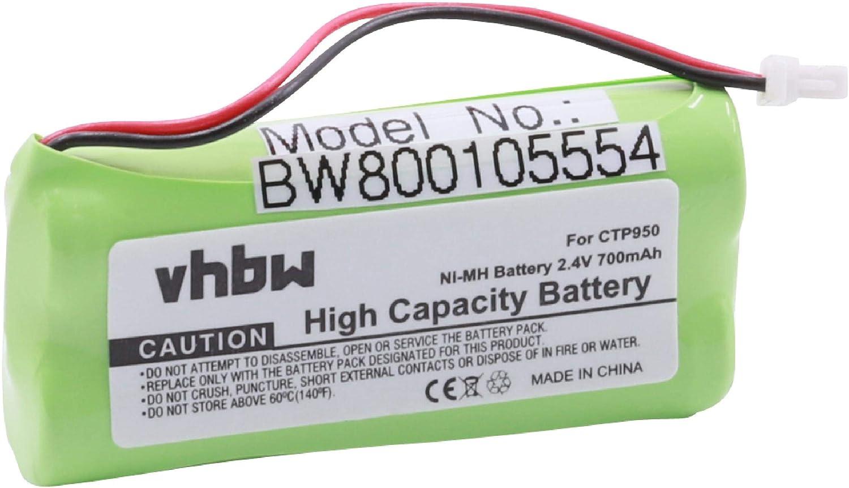 Vhbw Battery 700 Mah For Phone Landline Telephone Elektronik