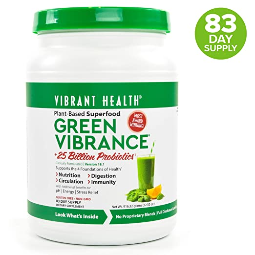Amazon.com: Salud Vibrante Green Vibrance, 1, 1: Health ...