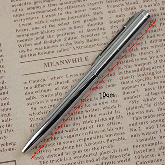 lote mini bolígrafo de metal rotativo bolígrafo de bolsillo rotult2 1 unids