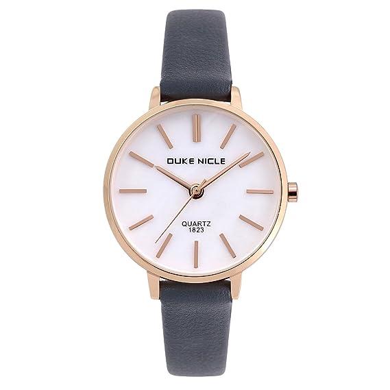 Womens Fashion Watch,Ladies Elegant Waterproof Quartz Rose Gold Case Roman Numeral Casual Wrist Watches
