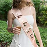 Bachelorette Party Decorations Kit,Pink Rose Gold