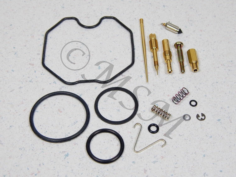 Keyster HONDA XR185 & 80-84 XR200 NEW CARBURETOR CARB REPAIR KIT 0201-129 Unbranded