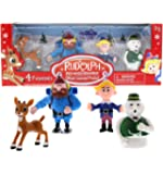 Rudolph the Red-Nosed Reindeer: Collectible Figurine Set 1 (4 Figurines) RUD32110