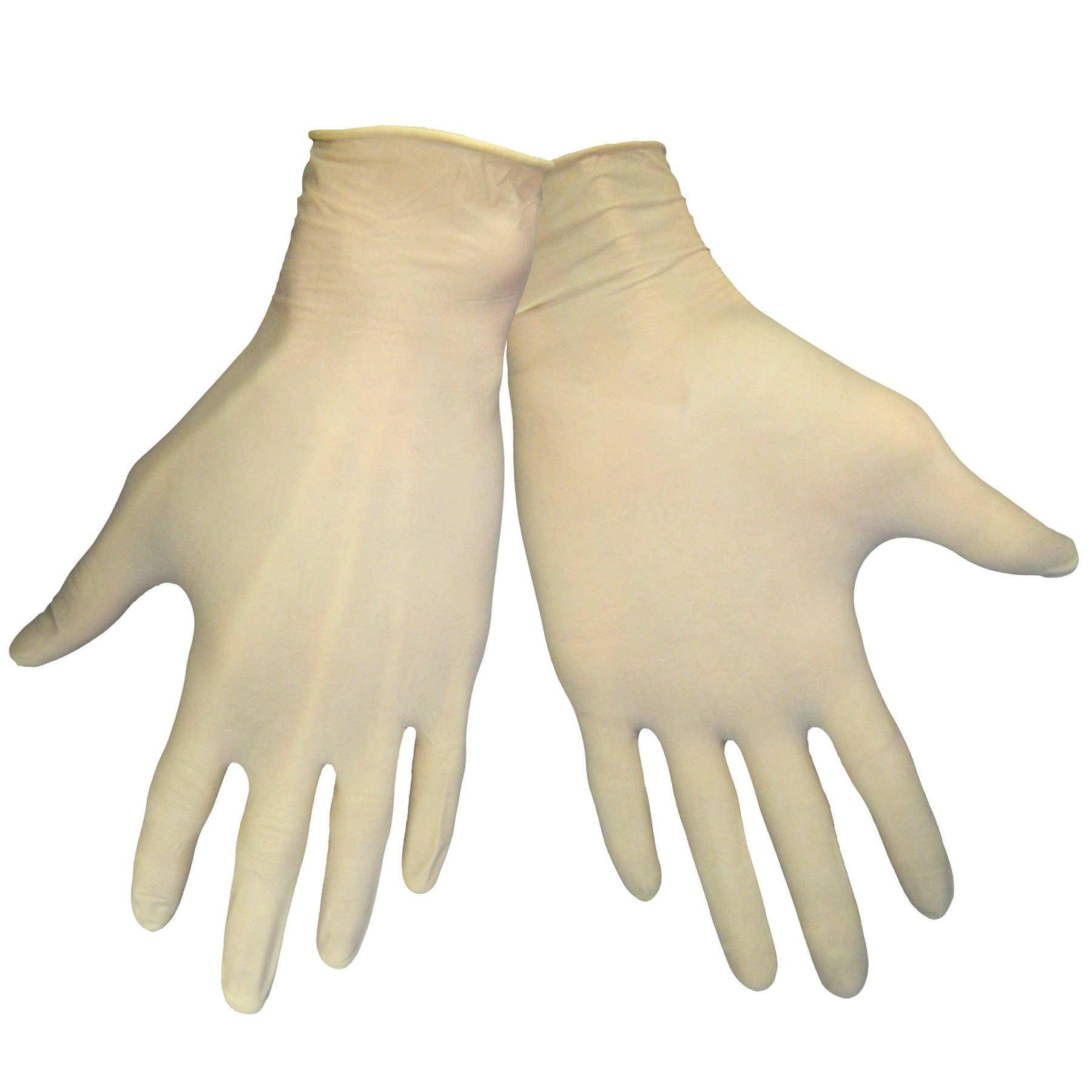 Global Glove 305 Latex Lightly Glove, Disposable, Powdered, Medium (Case of 1000)