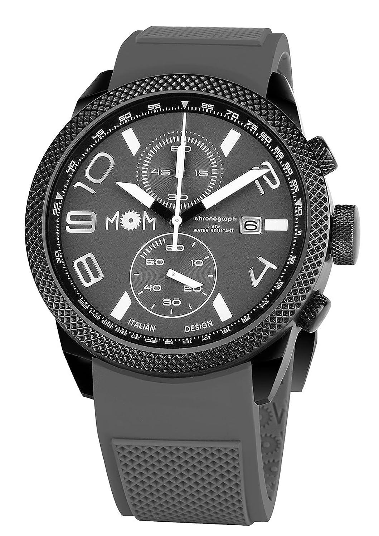 MoM PM7000-92 Herren-Armbanduhr Modena - Edelstahl - grau - 16.5 x 10.2 x 0.15 cm