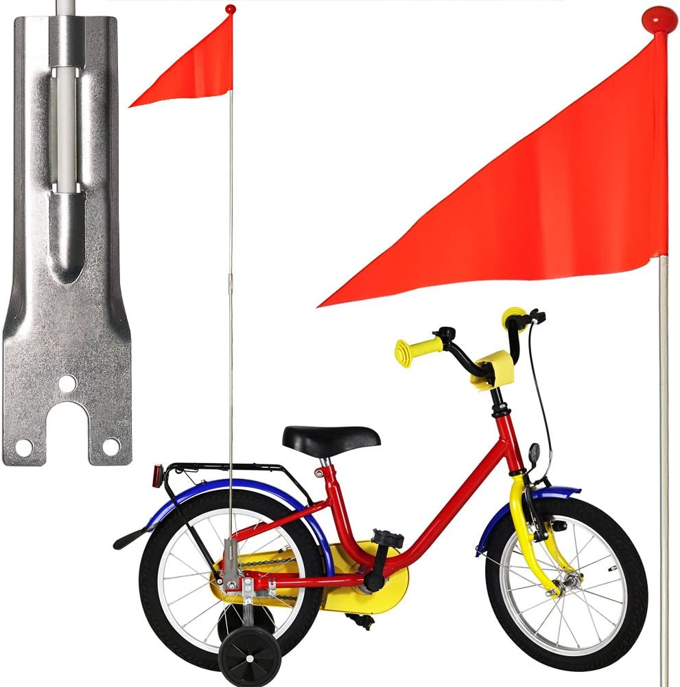 Bicycle Gear ED68305--1 - Banderín infantil para bicicleta, color naranja Talla:48 Packs: Amazon.es: Deportes y aire libre