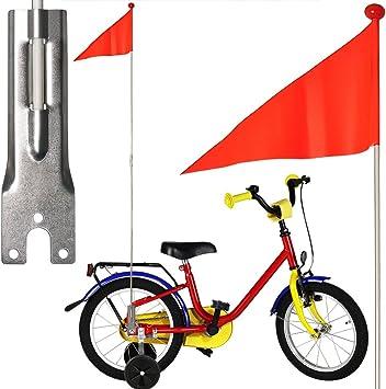 Bicycle Gear - Banderilla de Seguridad para Bicicletas (Soporte ...