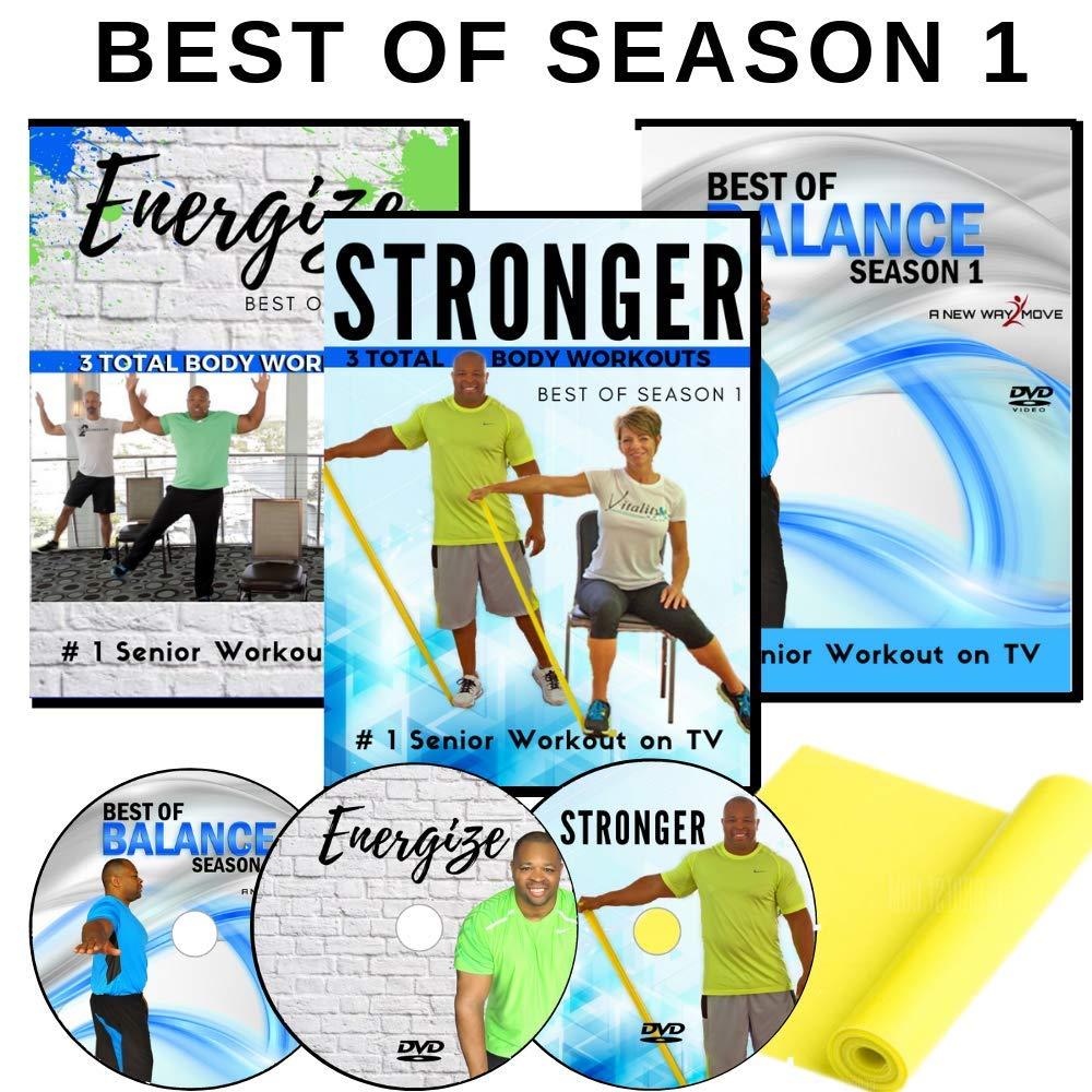 Amazon.com: DVD de ejercicios para personas mayores: 6 ...
