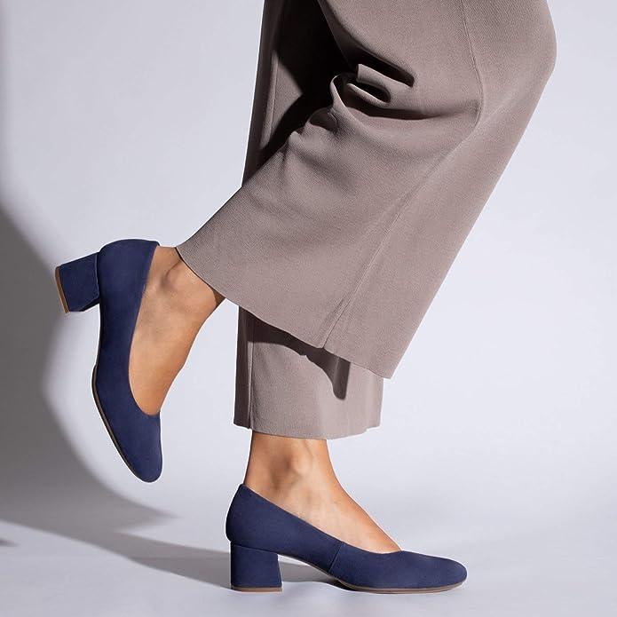 miMaO Chaussures Escarpins /à Petit Talon Chaussures Classiques et /Él/égants Escarpins en Daim Made in Spain