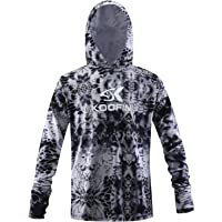 Performance Fishing Hoodie Long Sleeve Hooded Sunblock Shirt Outdoor UPF50 Dry Fit Quick-Dry Hoody Loose Fit