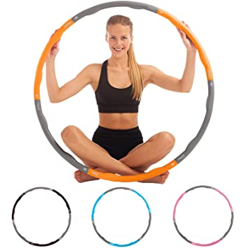 Fitness Hula Hoop Reifen Von Just Be…® Abdominal Exercisers Fitness Equipment & Gear
